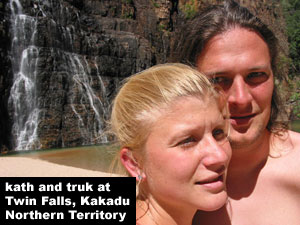 truk and kath in australia