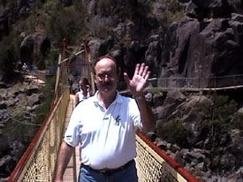 Larry on the Bridge
