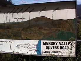 Mersey Valley Sign