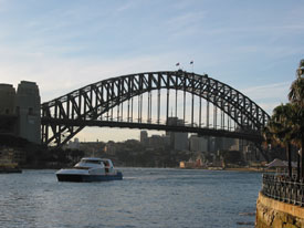 Sydney Harbour Bridge Rivercat