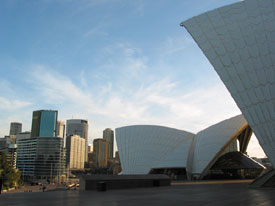 Opera House and Sydney City