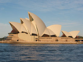 Opera House Side View