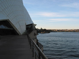 Sydney Opera House Side Edge
