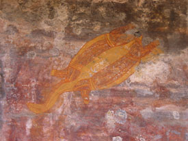 Aboriginal Art - Turtle