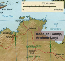 Bodeidei Camp, Arnhem Land